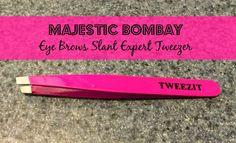 Majestic Bombay - Eye Brows Slant Expert Tweezer #MBEyeBrowTweezer #tweezers #beauty