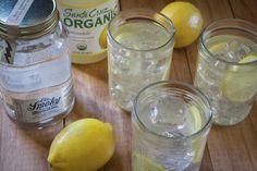 Moonshine and Lemonade - 2oz Ole Smoky Moonshine + 4oz Lemonade. Serve over ice with a lemon slice.