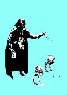 Star Wars Pop Art by Charl Uys, via Behance