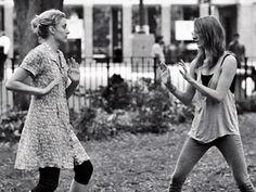 FRANCES HA   FRANCES FORD HAPPALA? Greta Gerwig and Mickey Sumner star in Frances Ha