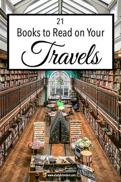 Here are 21 books to read while traveling, with a country-by-country guide to which books are the best to read for each destination.