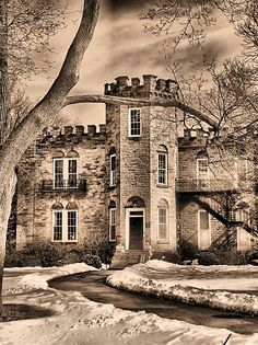 Amazing photo of the Sunken Gardens Castle by Tracey Hatcher
