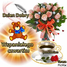 czwartek Good Morning, Table Decorations, Pictures, Aga, Buen Dia, Photos, Bonjour, Good Morning Wishes, Grimm