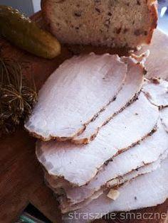 Gotowany schab - domowa wędlina Kielbasa, Camembert Cheese, Homemade, Meat, Recipes, Food, Party, Ayurvedic Recipes, Cooking