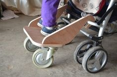 Stroller board. I don't need one of these but I still think it's good to have for if I know someone who might as a gift!!