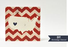 Seriously in love with this patriotic craft