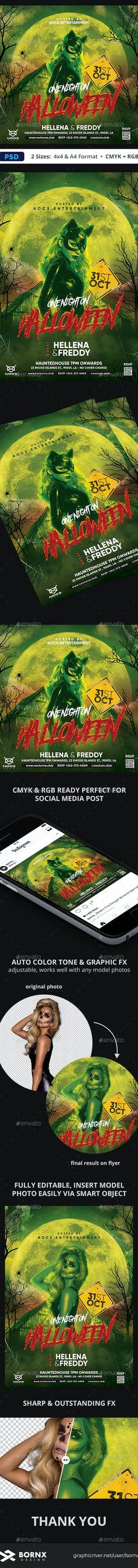 Halloween Flyer by bornx | GraphicRiver Halloween Flyer, Art, Art Background, Kunst, Performing Arts, Art Education Resources, Artworks