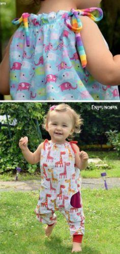 Einfacher Jumper zum Nähen für Kinder - Schnittmuster und Nähanleitung via Makerist.de