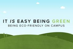 """Making eco-friendly choices during college doesn't have to be hard - and the """"three R's"""" can be useful tools. Find out how to reduce, reuse, and recycle! The Three Rs, Go Green, Eco Friendly, Juice, Recycling, College, Reduce Reuse, Choices, Easy"""