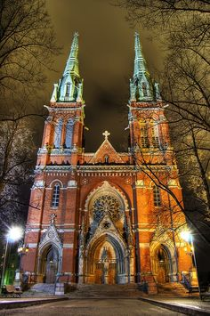 Johanneksenkirkko (St. John's Church) is a major church in downtown Helsinki. #Catedral #Church