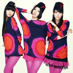 J-Pop/J-Techno group Perfume!!!!! | Kawaii~!!! | Pinterest ...