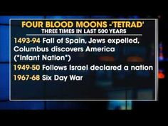 4 Blood Moons in Bible Prophecy Feasts Of The Lord, Joy Of The Lord, He Is Coming, Jesus Is Coming, Revelation Prophecy, End Times Prophecy, End Of Days, New Earth, Blood Moon