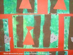 chaprgeMBD01b Art Plastique, Marie, Fairy Tales, Let It Be, Quilts, Blanket, Notebooks, Art Ideas, Short Stories