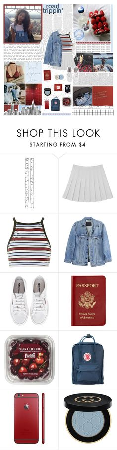 """★; we watched the sun set"" by ecclxsiastes ❤ liked on Polyvore featuring GET LOST, ferm LIVING, Motel, Y/Project, Superga, Passport, FRUIT, Fjällräven and Gucci"