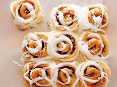 Giada's Hazelnut Cinnamon Rolls