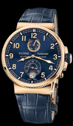 1186-126/63 - Marine Chronometer Manufacture - Marine Chronometer - Marine - Welcome to the Ulysse Nardin collection - Ulysse Nardin - Le Locle - Suisse - Swiss Mechanical Watch Manufacturer