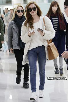 [121206] Jessica Arrival at Gimpo Airport from Japan