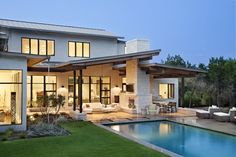 The Blanco House, Urban Contemporary Home by James D. LaRue Architects