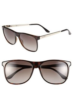 Carrera Eyewear 57mm Retro Sunglasses available at #Nordstrom