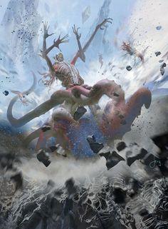 MTG-Battle For Zendikar- Eldrazi Birth by jason-felix.deviantart.com on @DeviantArt