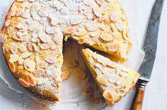 Rich almond ricotta cake