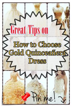Quinceanera Guide - Gold Quinceanera Dresses In Autumn Shades. Pick one of these Gold quinceanera dresses for the big day of yours! Different Dresses, Different Patterns, Quince Dresses, Queen, You Look Like, Quinceanera Dresses, Pick One, Timeless Beauty, Every Girl