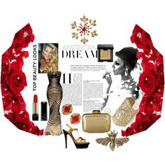"""""""Old Hollywood Glamour"""" by dasiua on Polyvore"""