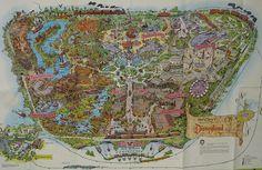 Disneyland Map 1965