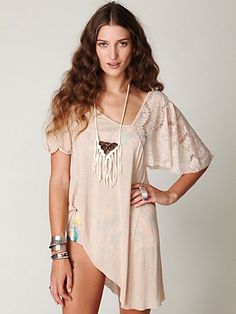 free people lace, lace lady top $49.95