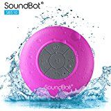 """""""Singing in the shower.."""" With this waterproof wireless speaker you can practise your serenade even while you fresh up! http://amzn.to/2kYNSBn"""