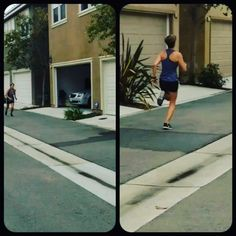 Here's a #sprint tip for you Kick your legs back to your butt and take long strides. It may feel weird at first, but this will help you cover a longer distance in less strides, ultimately making you faster.