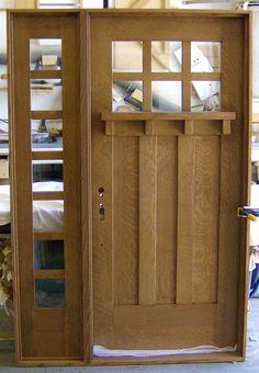 Heart of Oak Workshop, Authentic Craftsman & Mission style Door Designs