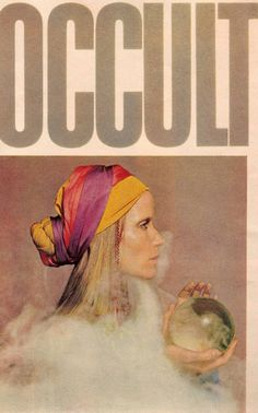 McCall's magazine article featuring Veruschka — 'The Occult Explosion', 1970.