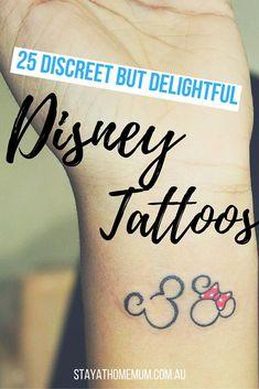 Disney Tattoo – Cute and sweet Disney tattoos!… unique Disney Tattoo – Cute and sweet Disney tattoos! Disney Tattoos Mickey, Disney Couple Tattoos, Mickey Tattoo, Disney Tattoos Small, Small Tattoos, Disney Tattoos Quotes, Baby Name Tattoos, Tattoos With Kids Names, Cute Tattoos