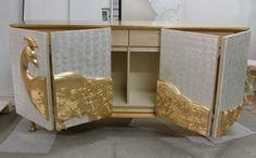 koket, luxurious camilia cabinet, costum furniture for a exotic decoration