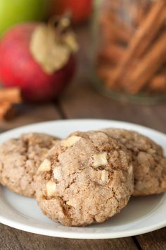 Gluten-Free Apple Spice Cookies