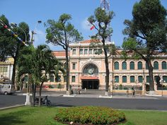 Post Office, Saigon by miguelandujar, via Flickr