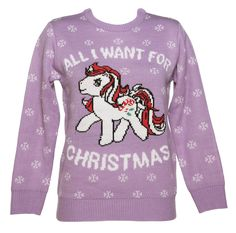 My Little Pony Clothing & T-Shirts Best Christmas Jumpers, Xmas Jumpers, Knitted Christmas Jumpers, Christmas Knitting, Ugly Christmas Sweater, Christmas Tops, Christmas Clothes, Merry Christmas, Clothes