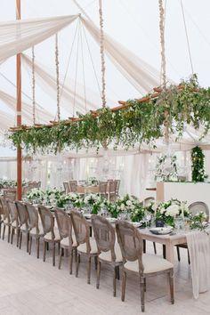 Elegant Tuscan-inspired wedding reception decor: http://www.stylemepretty.com/massachusetts-weddings/richmond/2015/12/11/tuscan-inspired-summer-wedding/   Photography: Shannen Natasha - http://shannennatasha.com/