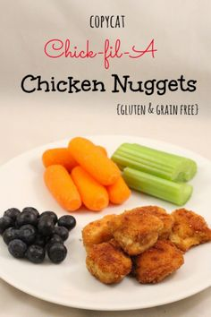 Copycat Chick-Fil-A Chicken Nuggets from Super Glue Mom