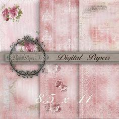Digital Texture Paper Digital Background  by digitalpaperetc