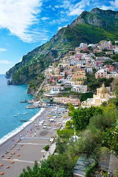 Positano, Amalfi Coast, Italy. I want to go see this place one day. Please check out my website thanks. www.photopix.co.nz