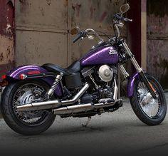 harley street bob voodoo purple | 2014 Harley-Davidson FXDB Street Bob® | Morgan & Wacker