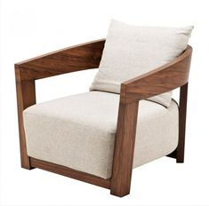 Chair Rubautelli rEICHHOLTZ Oakwood Furniture, Luxury Furniture, Furniture Design, Furniture Chairs, Oak Chairs, Walnut Furniture, Modern Furniture, Sofa Design, White Armchair