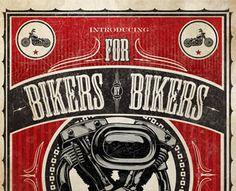 For Bikers yby Bikers by O3B (via Creattica)