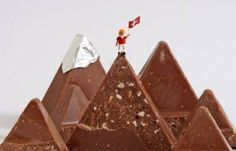 In Switzerland, the average person eats 23 lbs. of chocolate every year.) Toblerone : I love it ! Swiss Chocolate, Chocolate Lovers, Basel, Zermatt, Swiss Switzerland, Switzerland Trip, Fondue, Vacation Food, Bonbon