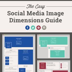 [INFOGRAPHIC] Get the guide to create perfect-sized images for all of you social media networks: http://www.snapretail.com/resources/tips/social-image-dimensions.aspx?utm_campaign=2014contentmarketingutm_source=srutm_medium=pinterestutm_content=infographic_imagedimensions