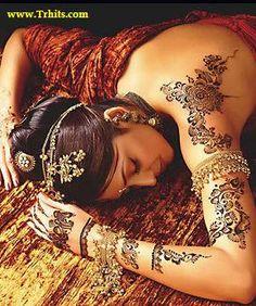 Bridal Mehndi or Henna art.
