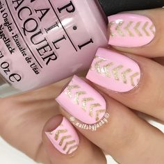 "Finally had some time to do my nails today A cute simple chevron stacked design I've seen many doing lately & wanted to do it myself. • Colors used; ""Mod About You"" & ""Love.Angel.Music.Baby"" from @hbbeautybar. • I used Single Chevron stencils from @twinkled_t (Use my code ""JACKY"" to get 10% off your entire order at www.TwinkledT.com) ✨ • Top Coat: #GemGlamTopCoat from @mydreampolish. ✨ Use my code ""NAILSBYJACKY"" to get 15% off your entire order at www.hbbeautybar.com ✨"