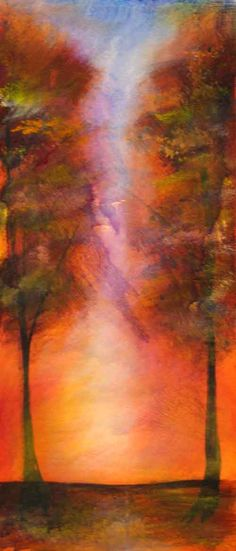 Tree Paintings  AMAZING PASTELS!!